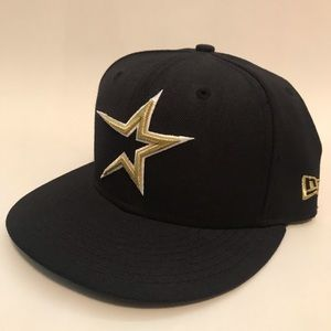 NEW ERA retro HOUSTON ASTROS fitted hat 7 1/4